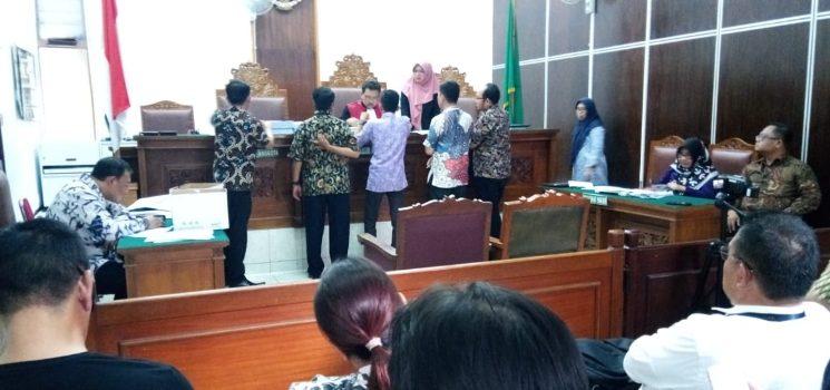 Sidang Praperadilan yang digelar di PN Jaksel