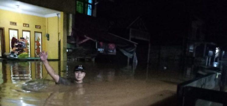 Banjir Terjang Desa Sukadana Sekitar 180 KK Diung