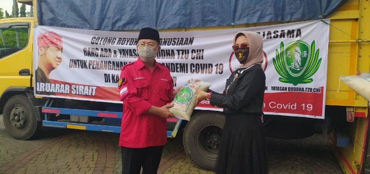 Diterima Bupati Cianjur Bang Ara Bersama Yayasan