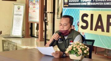 Juru Bicara Gugus Tugas Dadang Sundara