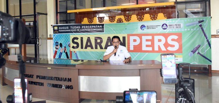 ODR Terus Menurun PSBB Kabupaten Sumedang Cukup Berhasil Tanggulangi Covid 19