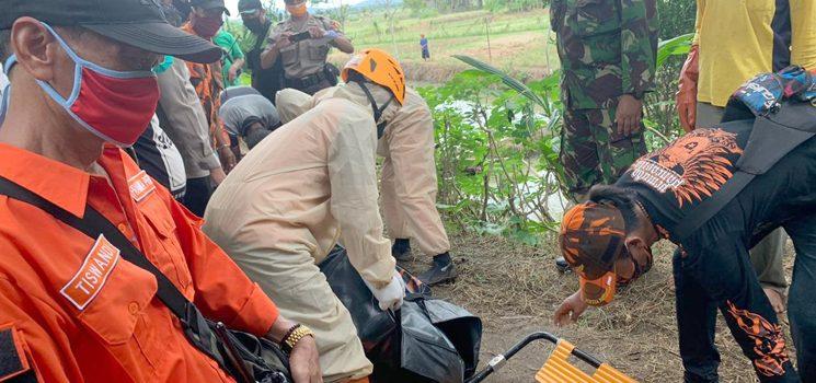 Tim SAR Gabungan Temukan Nono yang Tenggelam di Sungai Cijolang Kab Ciamis