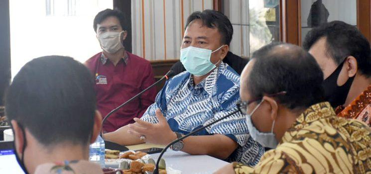 KPK Monev Pendataan Pengelolaan dan Penyaluran Bansos Kabupaten Sumedang