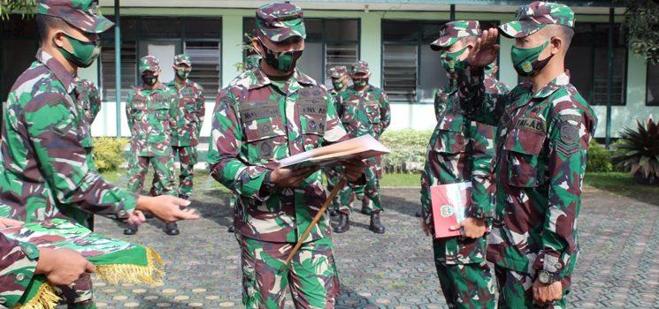 Kodim 0610 Sumedang Lepas Satgas Apter ke Kodam XVII Cendrawasih dan Pattimura