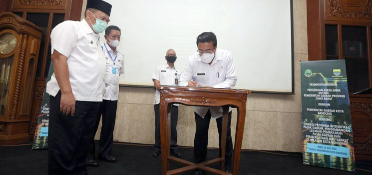 Tingkatkan PKB BPPD Pemkot Bandung MoU Dengan Bapenda 2