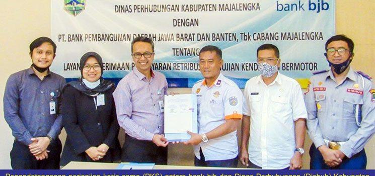 bank bjb Fasilitasi Setoran Uji KIR di Majalengka