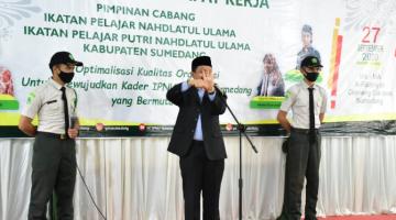 Bupati Sumedang Berharap PC IPNU IPPNU Merealisasi