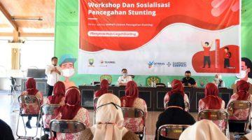 Kader Posyandu Desa Cilembu dan Mekarjaya Ikuti Workshop dan Sosialisasi Pencegahan Stunting