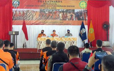 Puluhan Anggota Ikuti Latihan Pencarian dan Pertolongan Daerah di Cianjur 1