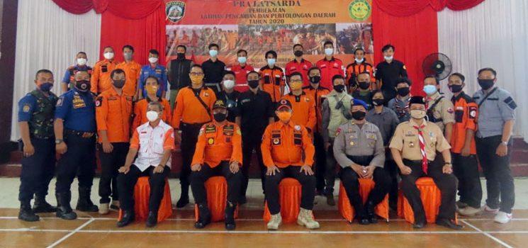 Puluhan Anggota Ikuti Latihan Pencarian dan Pertolongan Daerah di Cianjur 2