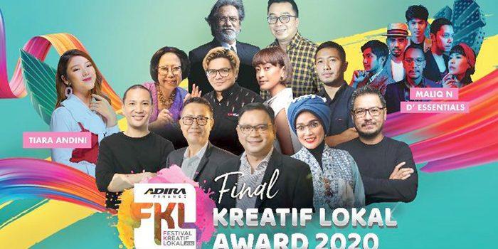 30 UKM Terbaik Bersaing di Babak Final Adira Finance Kreatif Lokal Award 2020