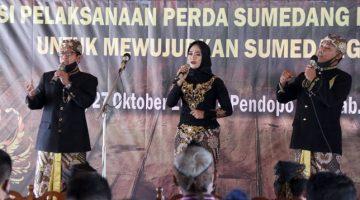 Bupati Sumedang Membuka Kegiatan Kongres Kebudayaan Daerah II