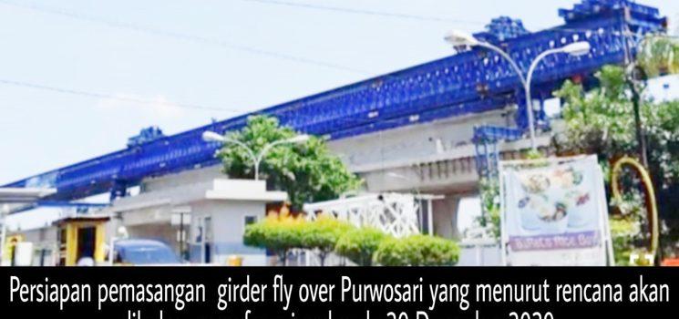 Fungsional Fly Over Purwosari Digelar Desember 2020