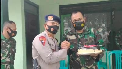 HUT TNI Ke 75 Datasemen Gegana Satbrimob Polda Ja