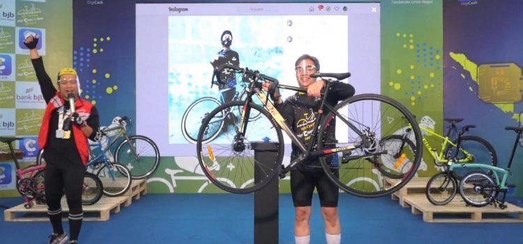 Keseruan Warnai bjb Cycling DigiCash V Ride Series