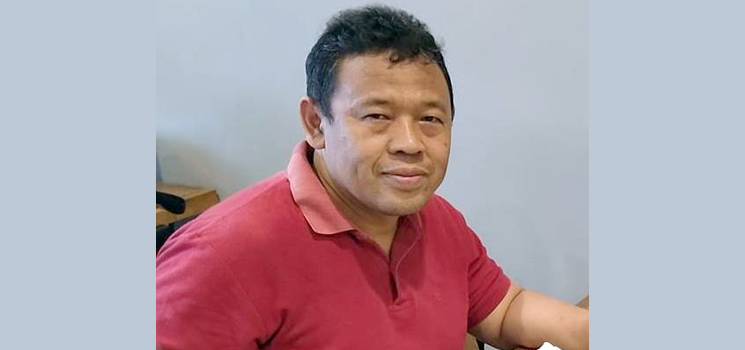 Ketua Beyond Anti Corruption BAC Dedi Haryadi