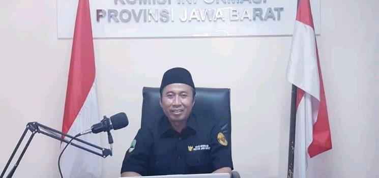 Ketua KI Provinsi Jawa Barat Ijang Faisal