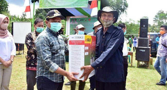 Libur Cuti Bersama Bupati Sumedang Kunker ke Desa Mulyamekar