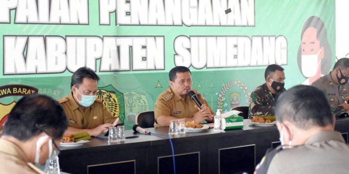 Pemkab Sumedang Lakukan Rapat Evaluasi Pelaksanaan AKB