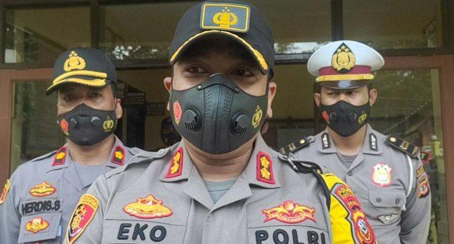 Pengamanan Libur Panjang Kapolres Sumedang Lakukan Pengecekan Kesiapsiagaan Personil Disejumlah Polsek