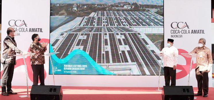 Peresmian Solar Panel1