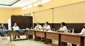 Rapat kerja Komisi IV DPRD jabar dgn UPTD PSDA Citanduy foto humas