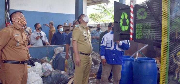 Wakil Bupati Sumedang Uji Coba Pengoperasian Incenerator Ramah Lingkungan di Hegarmanah