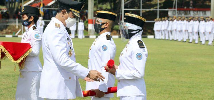 1098 Praja Muda IPDN Angkatan XXXI tahun 2020 Dilantik Tanpa Dihadiri Orang Tua