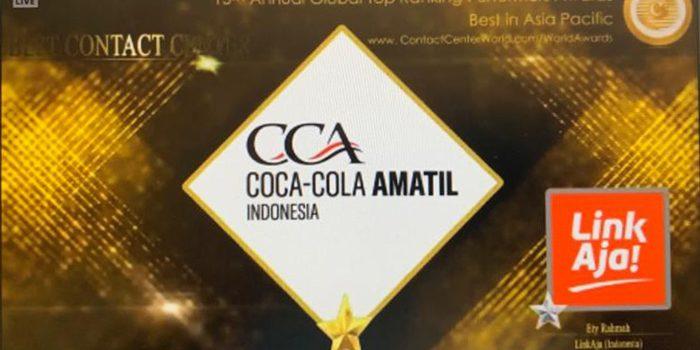 Coca Cola Amatil Indonesia Raih 5 Penghargaan di Contact Center World Top Ranking Performers 2020