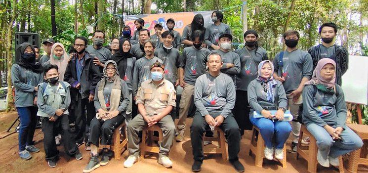Disparbudpora Sumedang Selenggarakan SOCA di Tahura Gunung Palasari 1