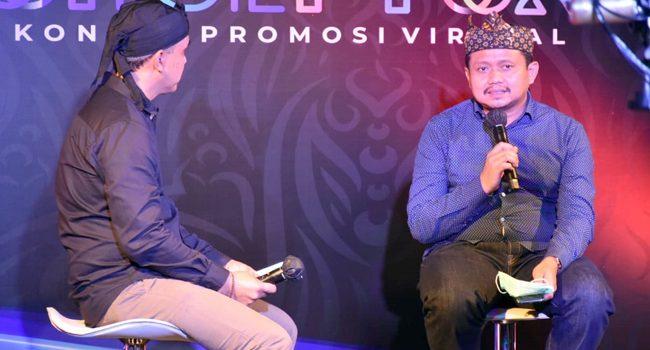 Hadirkan Bupati Sumedang Ekraf Menjadi Topik Talkshow Program Konseptual