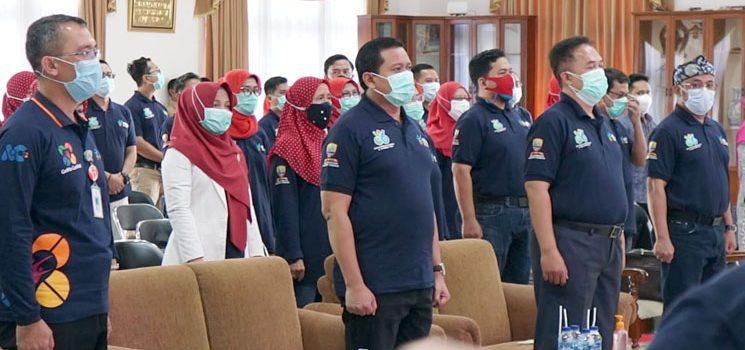 Hari Kesehatan Nasional Ke 56 Dinkes Sumedang Launching Ngarantang