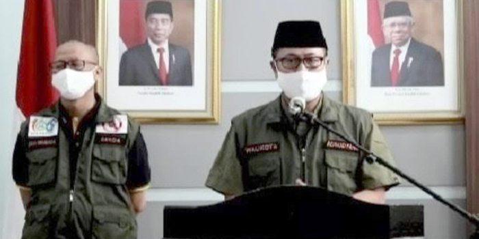 Kasus ASN Positif Meningkat Balaikota Sukabumi Disemprot Disinfektan