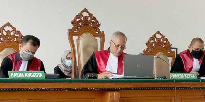 Ketua Majelis Hakim Kasus Rasuah RTH Kota Bandung 2012 2013 T Benny Eko Supriyadi