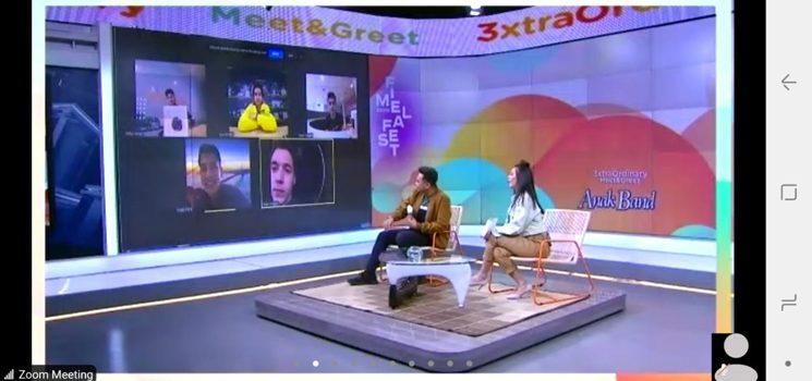 Natasha Wilona dan Stefan William Kabur di 3xtraOrdinary Meet and Greet Anak Bank 1