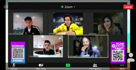 Natasha Wilona dan Stefan William Kabur di 3xtraOrdinary Meet and Greet Anak Bank 2