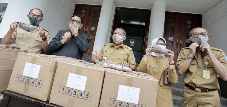 Pemkot Bandung Segera Distribusikan 200.000 Masker Bantuan Pemprov Jabar Copy