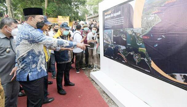 Proyek Pemerintah Sering Diganggu Ridwan Kamil Titip Kepolisian dan Kejaksaan Awasi Proyek Situ Bagendit