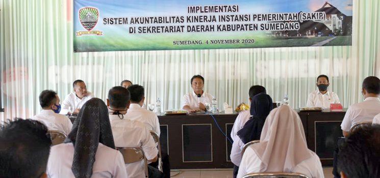 Setda Harus Menjadi Role Model Implementasi di Sumedang