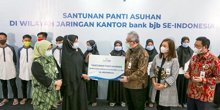 Tandamata di Tengah Pandemi bank bjb Salurkan Bantuan Kemanusiaan kepada Panti Yatim 1