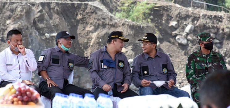 Wakil Bupati Sumedang Laksanakan Peletakan Batu Pertama Pembangunan Ekowisata Cileuksa 1