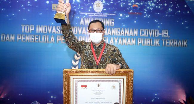 Wali Kota Sukabumi Raih Penghargaan Top 45 Inovasi Pelayanan Publik dari Menpan RB