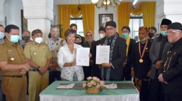 Yayasan Nazhir Wakaf Pangeran Sumedang Bekerjasama Dengan The Lodge Group Kelola Museum Prabu Geusan Ulun