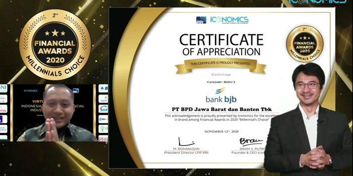 bank bjb Raih Penghargaan Indonesia Financial Awards 2020 3