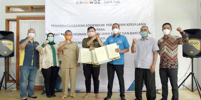 bank bjb Salurkan KUR kepada Petani di Kabupaten Sukabumi 1