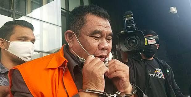 terdakwa kasus rasuah pengadaan lahan RTH Kota Bandung 2012 2013 Dadang Suganda