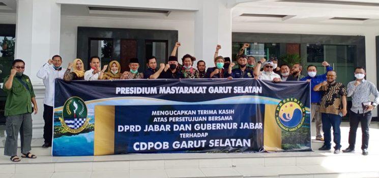 16 Tahun Menanti DOB Garut Selatan Akhirnya Persetujuan DPRD Bersama Gubernur Jabar Ditandatangani