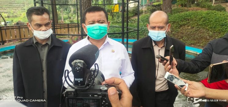 Dengan Prokes yang Ketat Bupati Sumedang Buka Wisata Edukasi Pesona Taman Puspa