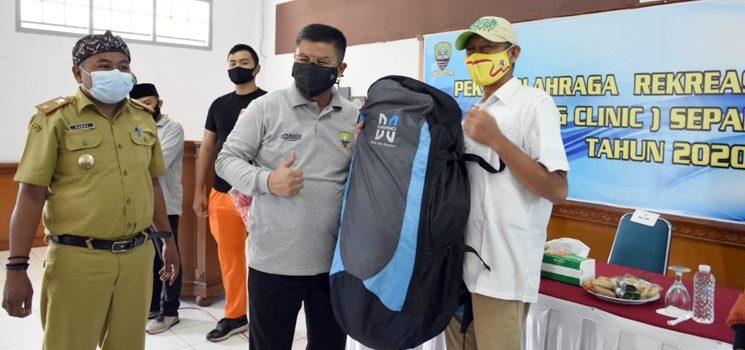 Disparbudpora Sumedang Bersama Askab PSSI Gelar Coaching Clinic Sepak Bola Putri