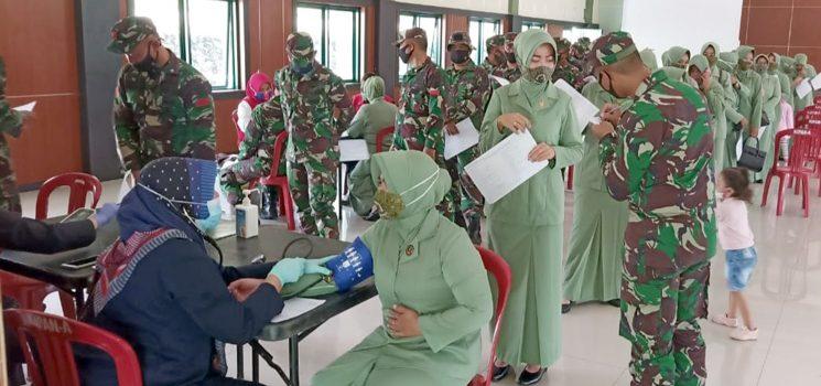 HJK Ke 75 Yonif Raider 301Pks Gelar Bhakti Sosial Donor Darah